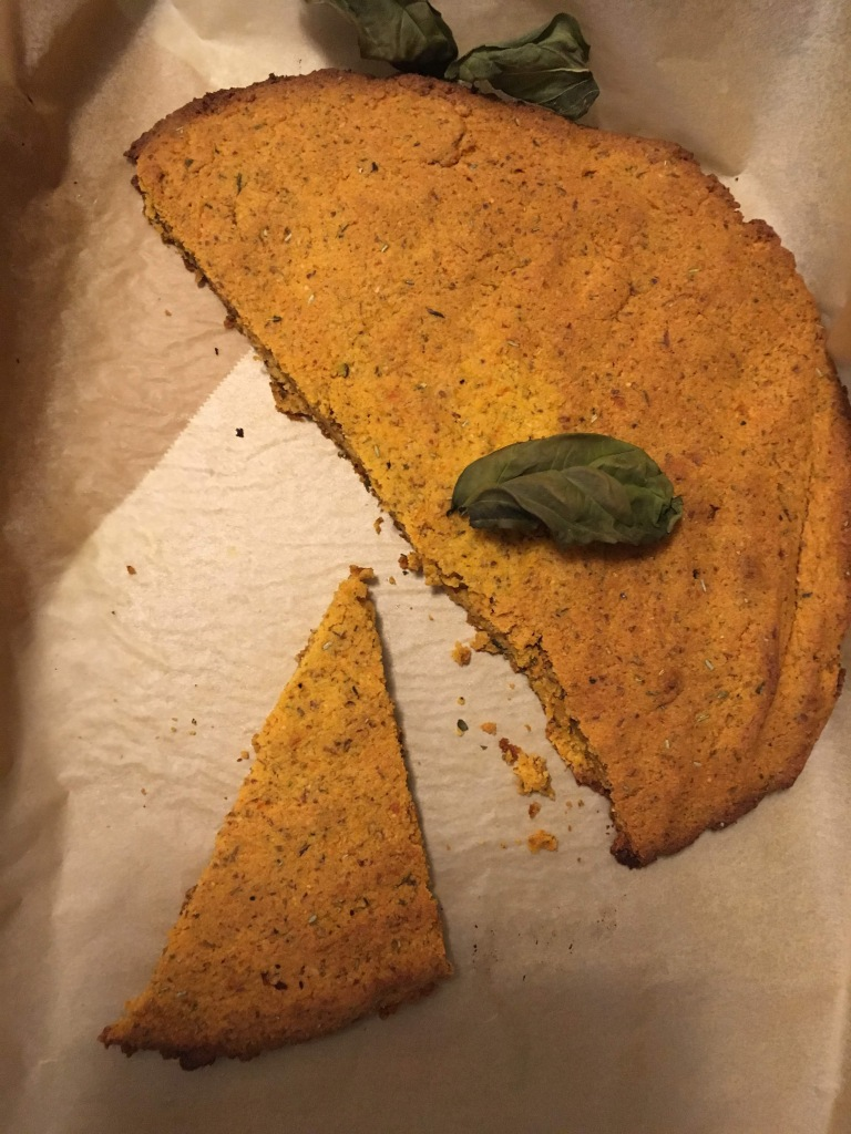 Grain free sweet potato flatbread almond flour