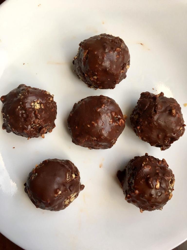 Ferrero truffles