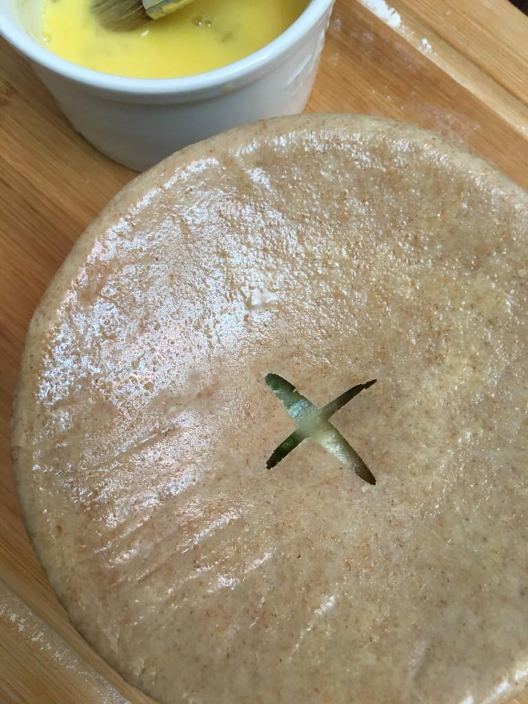 spelt flour pie crust pot pie