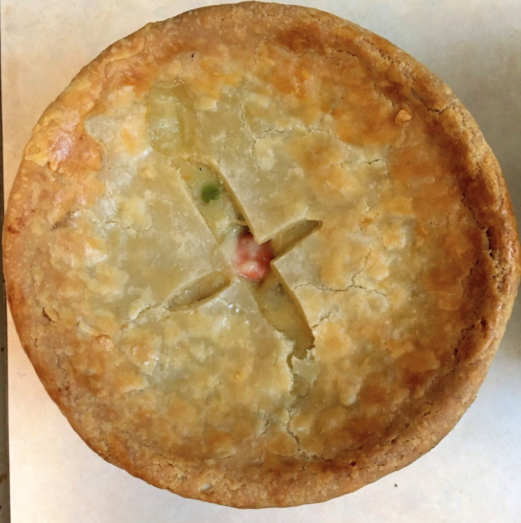 dairy free turkey pot pie or chicken pot pie with healthy pie crust