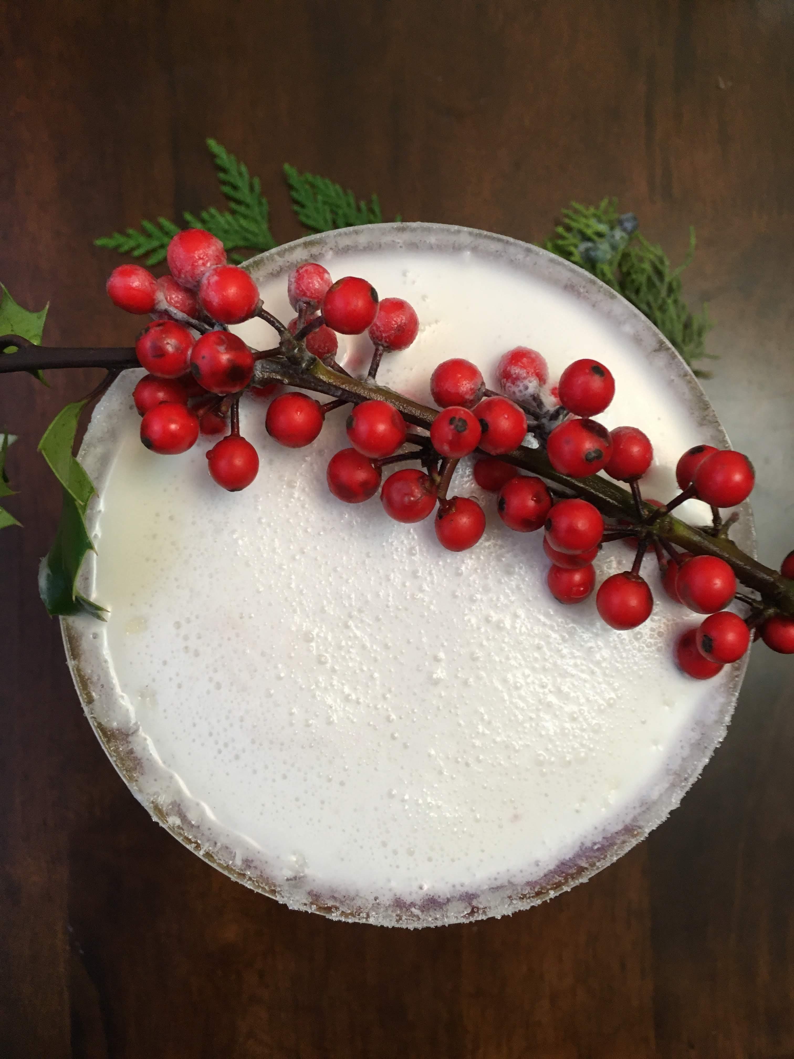 the best white christmas margarita