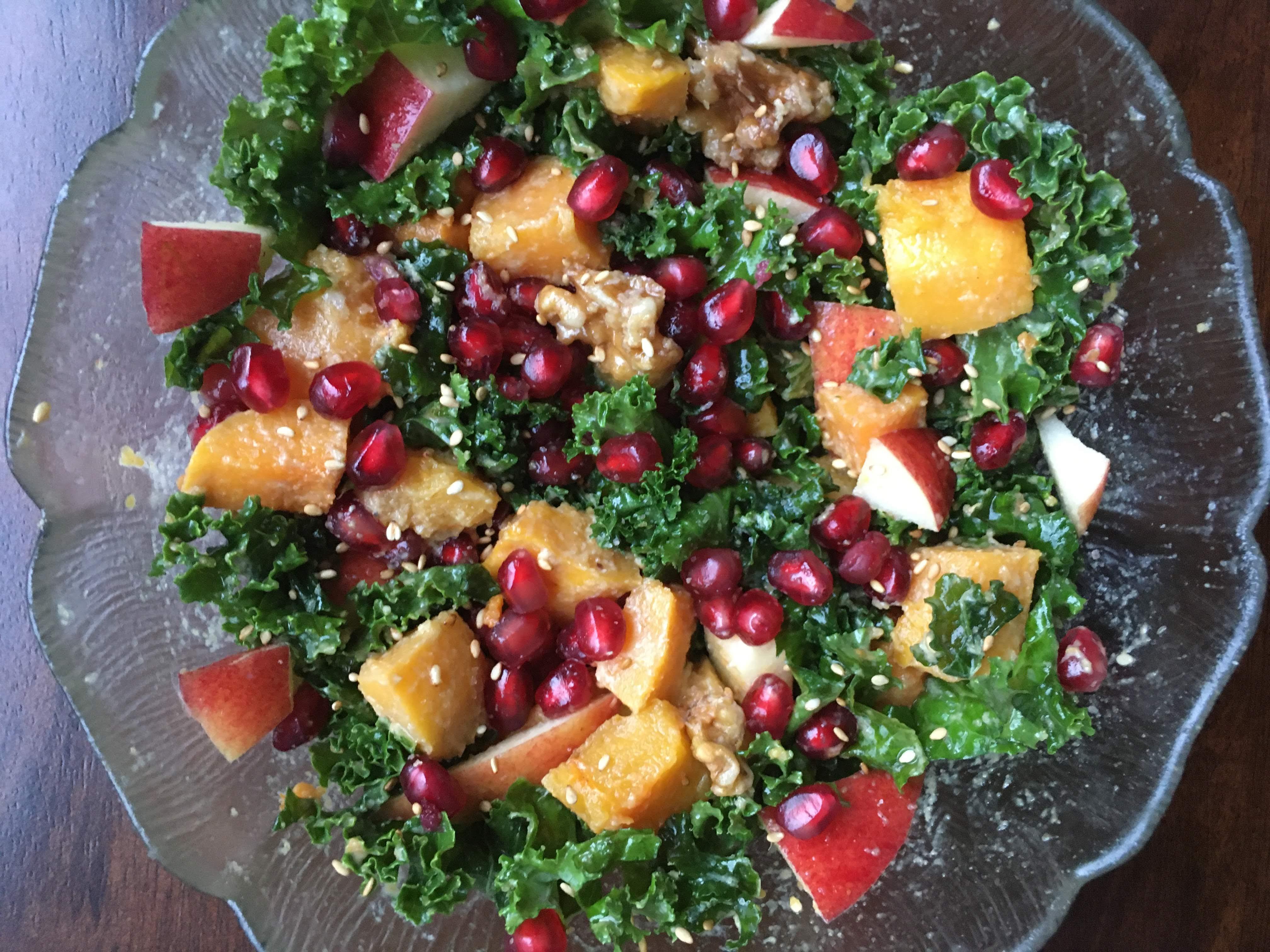 best kale salad dressing